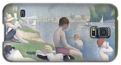 Bathers At Asnieres Galaxy S5 Case