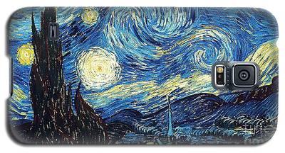 Starry Night By Van Gogh Galaxy S5 Case