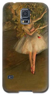 Two Dancers On A Stage Galaxy S5 Case