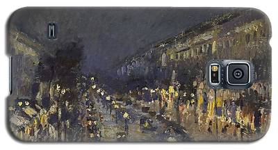 The Boulevard Montmartre At Night Galaxy S5 Case