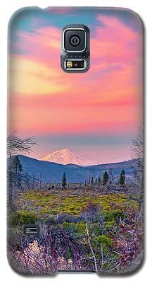 60 Miles To Mount Shasta Galaxy S5 Case