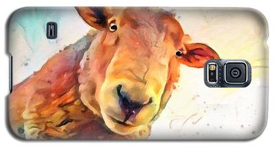 A Curious Sheep Called Shawn Galaxy S5 Case