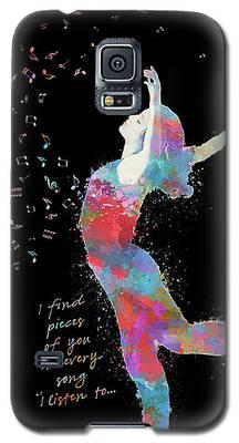 Beloved Deanna On Dark Galaxy S5 Case