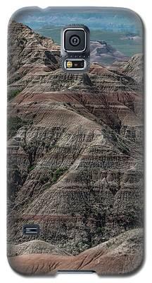 Badlands Portrait Galaxy S5 Case