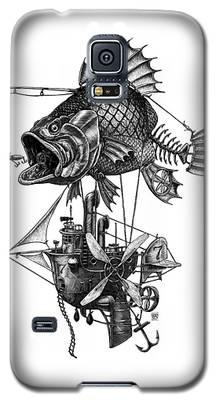Bass Airship Galaxy S5 Case
