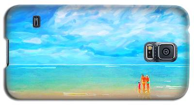 Beach Blues II Galaxy S5 Case