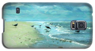 Beach Blues IIi Galaxy S5 Case