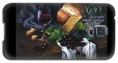 Bread And Wine Galaxy S5 Case