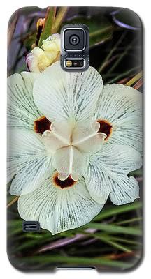 Caribbean Wildflower Galaxy S5 Case