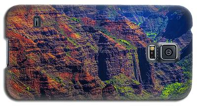 Colorful Mountains Of Kauai Galaxy S5 Case