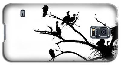 Cormorant's In Silhouette Galaxy S5 Case