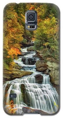 Cullasaja Falls Galaxy S5 Case