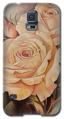 Damask Roses Galaxy S5 Case