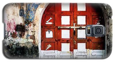 Doors Of India - Garage Door Galaxy S5 Case