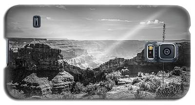 Eagle Rock, Grand Canyon In Black And White Galaxy S5 Case