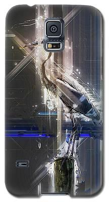 Electric Heron Galaxy S5 Case
