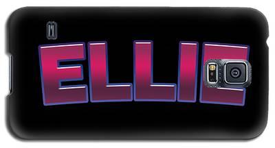 Ellie #ellie Galaxy S5 Case