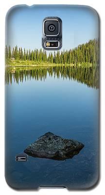 Eva Lake Mirror Galaxy S5 Case