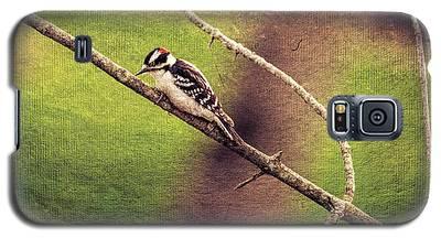 Faded Canvas Woodpecker Galaxy S5 Case