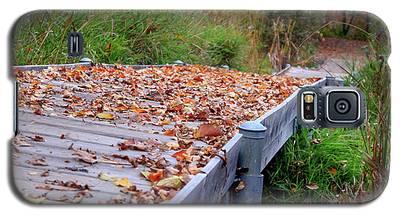Fall Boardwalk Galaxy S5 Case