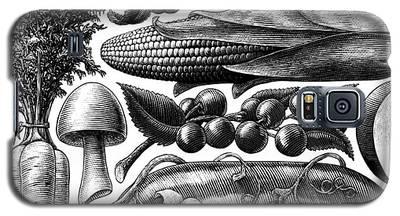 Farmer's Market - Bw Galaxy S5 Case