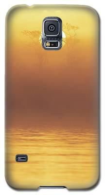 Foggy Wetlands Sunrise Galaxy S5 Case
