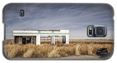 Glenrio Abandoned Gas Station  Galaxy S5 Case