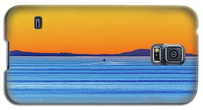 Golden Sunset Series I I Galaxy S5 Case