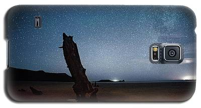 Gower Helvetia At Night  Galaxy S5 Case