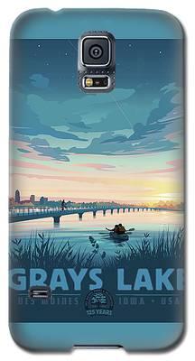 Grays Lake Galaxy S5 Case