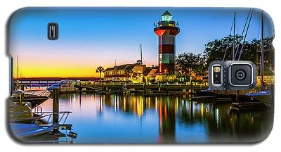 Harbor Town Lighthouse - Blue Hour Galaxy S5 Case