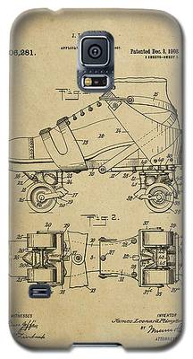 J. L. Plimpton, Roller Skate, Patented Dec.8,1908. Galaxy S5 Case