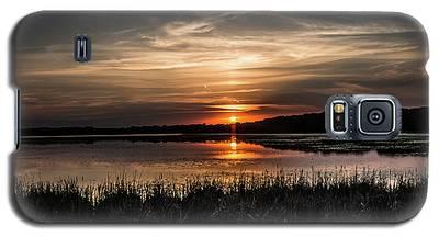Lake Orrock Sunset Galaxy S5 Case