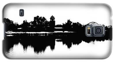 Lakeside Silhouette Galaxy S5 Case