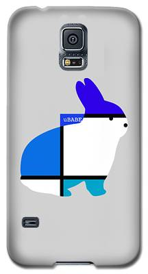 Lapin Agile Blue Galaxy S5 Case