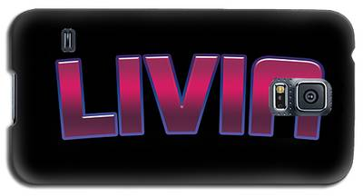 Livia #livia Galaxy S5 Case