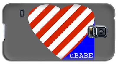 Love Ubabe America Galaxy S5 Case
