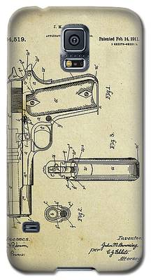 M1911 Browning Pistol Patent Galaxy S5 Case