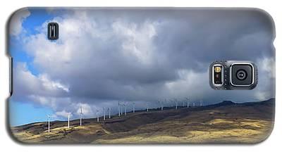 Maui Windmills Wide Galaxy S5 Case