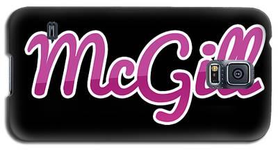 Mcgill #mcgill Galaxy S5 Case