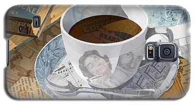 Morning Coffee Galaxy S5 Case