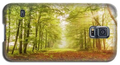 Neither Summer Nor Winter But Autumn Light Galaxy S5 Case