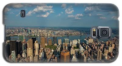 New York Skyline Empire State Galaxy S5 Case