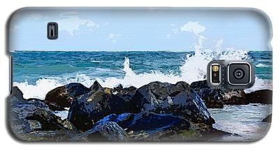 Ocean Meets The Coast Galaxy S5 Case