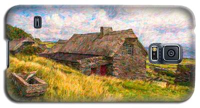Old Scottish Farmhouse Galaxy S5 Case