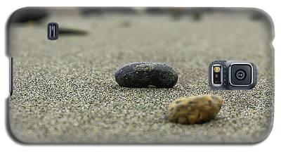 Pebbles On The Beach Galaxy S5 Case