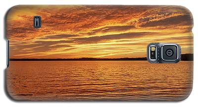 Percy Priest Lake Sunset Galaxy S5 Case