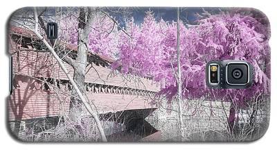 Pink Sachs Galaxy S5 Case