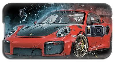 Porsche 911 Gt2 Galaxy S5 Case
