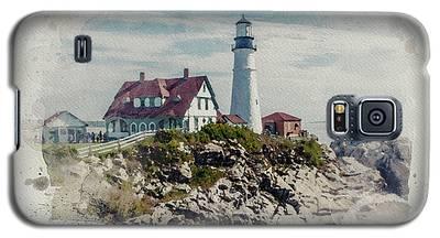 Portland Head Lighthouse Cape Elizabeth Maine Galaxy S5 Case